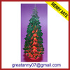 2014 china decoration gift lighted ceramic christmas tree shaped light wholesale