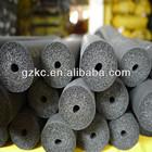 Black continuous rubber foam insulation tubes