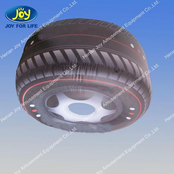 most popular advertising inflatable tire model,inflatable tire advertising for sale contact with Skype:hnjoytoys006