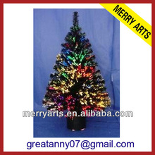 Yiwu Merry Arts&Crafts Factory hot new inflatable 2ft 60cm led fiber optic christmas tree indoor