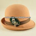 la mujer de lana sombrero de fieltro de lana de moda sombrero sombrero bombín