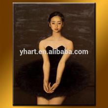 Wholesale Handmade Sex Picture Women Painting Of Ballet Dancer