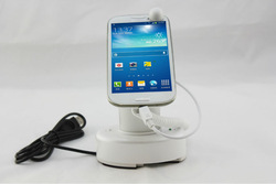 magnet sensor phone holder with charger mobile accessories display rack