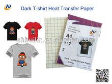 Vivid Colour Inkjet Dark T-shirt transfer Paper(170) A4,A3