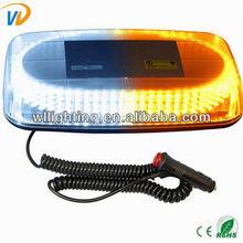 Emergency Hazard Warning 240 LEDs Mini bar Strobe Light w Magnetic Base DC 12V Yellow Amber High Quality