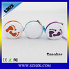mini Portable Rechargeable DOSS Bluetooth 2.0 Metal Speaker Speaker Wireless Dock for iPhone/iPod & iPad 1/2