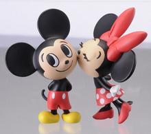 Pelúcia Minnie e Mickey mouse rato de brinquedo de pelúcia, Brinquedo de plástico Mickey mouse