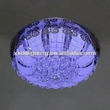 modern ceiling LED lamps for hotel crystal lighting