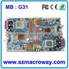 desktop computer motherboard G31 775