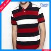 Bulk Stripe 100% Cotton Polo Shirt For Men Wholesale Polo Shirt