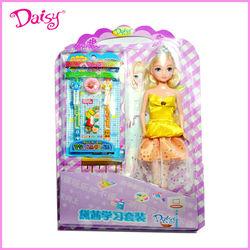 11.5 inch plastic little girl doll models--86003