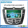ZESTECH DVD Supplier 2 Din Touch Screen Car DVD GPS Player for Honda Accord 7 Car DVD GPS Player With Gps Navigation System