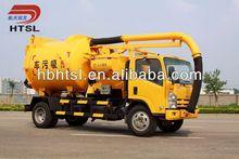 4 x 2 vácuo caminhão de sucção de esgoto, Dongfeng chassis
