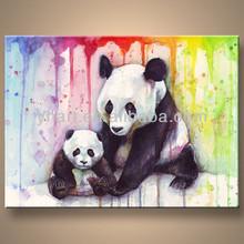 Wholesale handmade home wild animal oil paintings
