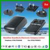us au eu uk interchangeable plug 14.5v 1.5a power adapter