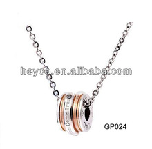 Heyco 316l stainless steel aroma pendant
