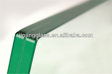 10.38mm laminated safety glass