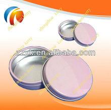 Mini Aluminum Women Solid Cream Tin with colors