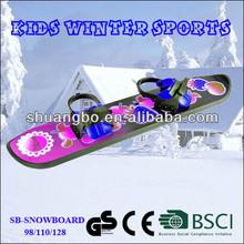 CE Certificate Kids Plastic Snowboard for Sale