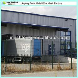 V shape safety diamond nylon 3d fold Folded Galvanized Wire Mesh fence(made in China)