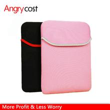 Colorful and beautiful waterproof anti-shock soft neoprene sleeve with inner for iPad2/3/4