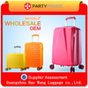 unique girls decent travel luggage in various colors and size factory in guangzhou