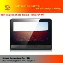 SH0701WF acrylic music 7 inch frame image edit photo