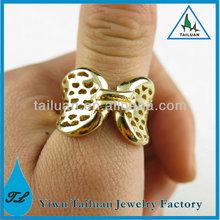 Fancy Gold Butterfly Ring