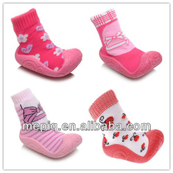 cotton antislip sole soft baby indoor socks baby shoes