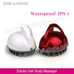 RO-1137 Handheld Rubber Massager, Rubber Scalp Massager