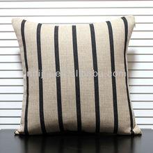 100% linen plain cushion covers cotton deco pillow