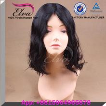 natural hair line body wave silk top chinese virgin jewish wig
