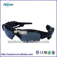 Cheap fashion sunglass bluetooth stereo 2014 hot sale wireless bluetooth sunglasses headset for Plantronics