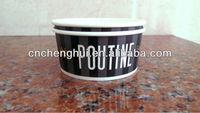 Canada ice cream brand paper bowls