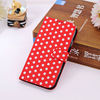 New Polka Dot Leather Case With Stand phone cover for samsung galaxy s4 Magnetic buckle