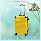 Best selling stylish hard case 100% PC travel trolley bag