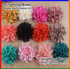 Hot-sales handmade baby shabby chic flower with clip ! kids fashion mixed colors shabby hair flower with clip !CB-2775