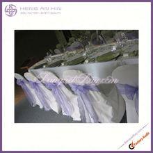 fashion sash mauve pale Organza sash for chair coveres china manufacturer supplier wholesaler