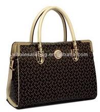 2014 Trend Designer Replica Branded Logo Summer Pu Leather Handbag Tote Bag For Ladies Women Girl In Stock Wholesale Price