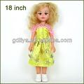 sally 18 vinil polegadas expressão baby doll de saia rosa