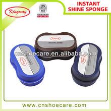 Shoe shine sponge quick shoe shine