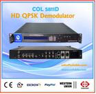 Digital Cable TV Headend IRD,HD Satellite Receiver,HD SDI QPSK Demodulator, MPEG-2/MPEG-4 hdmi satellite rf Demodulator dvb-s/s2
