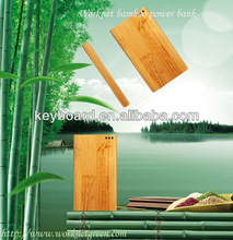 bamboo Mobile Power Bank Manufacturer, OEM is ok- andy