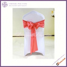 wholesale New fashion design satin chair sash manufacturer supplier