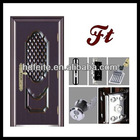 stainless steel hollow core double door stainless steel glass security storm door stainless steel glass entry doors
