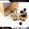 Montagem de madeira inteligência brinquedos educativos montados de madeira do brinquedo 3D