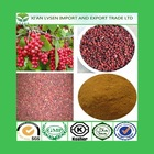 LVSEN high quality schisandrae chinensis extract 2%-9%