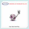 new arrival dice belly button ring body piercing jewerly