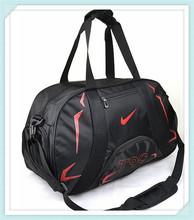 wholesale black polyester duffel travel & sport bag messenger travelling bag
