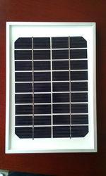 mini Size Solar Panel 5W mono aluminum frame /platic frame